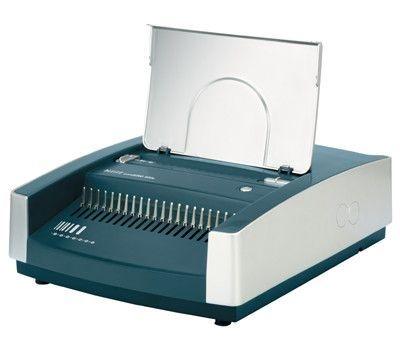 Kroužkový vazač comBIND 500e, stříbrný/ modrý