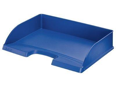Odkladač Leitz PLUS na šířku, modrý
