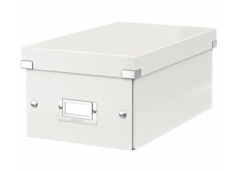 Archivační krabice na DVD Leitz Click-N-Store, bílá