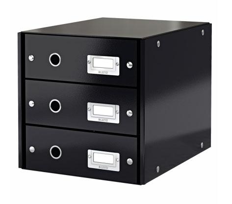 Box archivační zásuvkový Leitz Click-N-Store, 3 zásuvky, č.