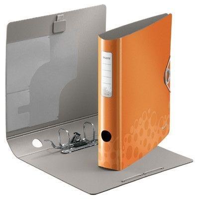 Pákový pořadač Leitz 180° Active BEBOP, 50 mm, oranžový