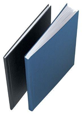 Tvrdé desky impressBIND, 106 - 140 listů, modré, balení 10 ks