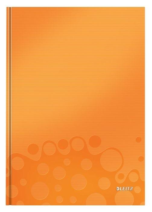 Zápisník Leitz WOW A4, čtverečkovaný, oranžový