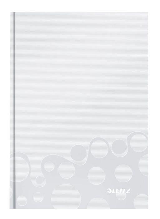 Zápisník Leitz WOW A5, čtverečkovaný, bílý