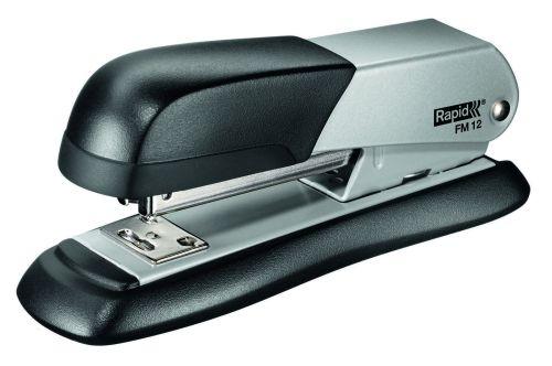Sešívač stolní Rapid FM12, celokovový, stříbrný