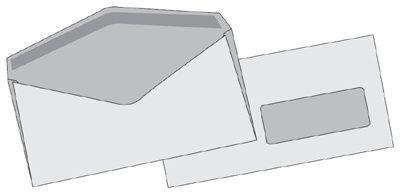 Obálka C5/6 s okénkem recyklovaná