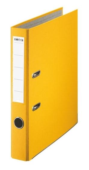 Pořadač pákový PP A4 50 mm, žlutý