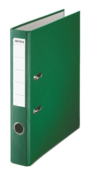 Pákový pořadač PP A4 50 mm, zelený