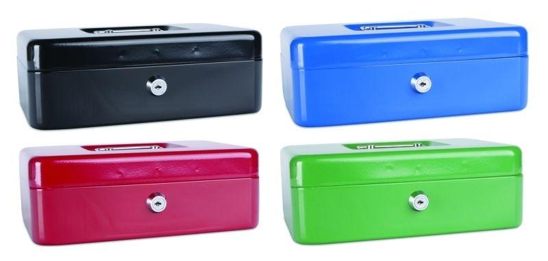 Příruční pokladna 250 × 180x90, mix barev