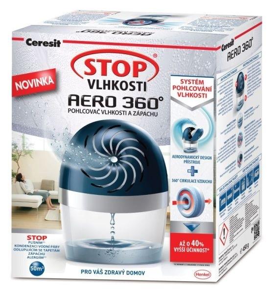 Pohlcovač vlhkosti a zápachu Ceresit AERO 360°