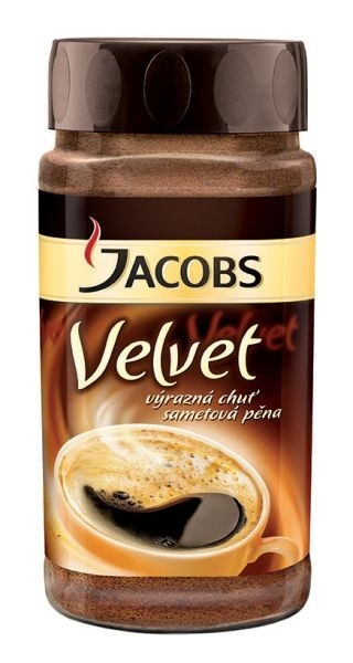 Káva Jacobs Velvet, instantní, 200 g