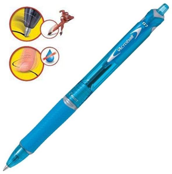 Pero kuličkové Pilot Acroball, světlé modré