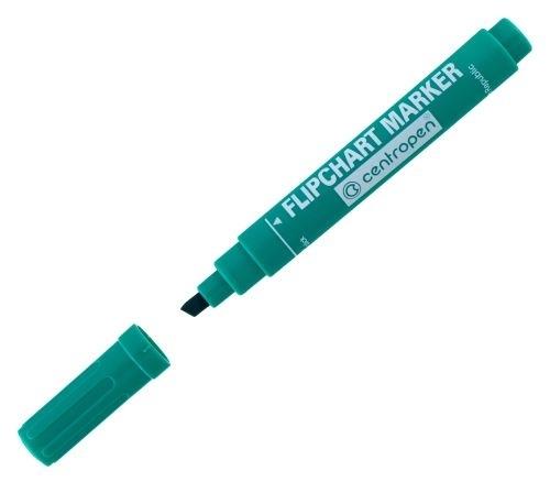 Značkovač na flipchart CENTROPEN 8560, zelený